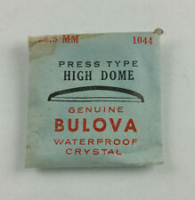 VINTAGE BULOVA PRESS TYPE HIGH DOME WATCH CRYSTAL - 28.5mm - PART# 1044