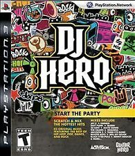 DJ Hero  (Playstation 3)  [Disc Only]