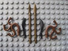 Custom ROMAN GLADIATOR WEAPON LOT for LEGO Minifigures Brickforge Scourge Spear