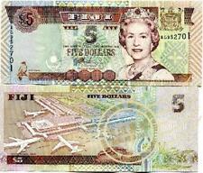 Fiji 5 dollars 2002 year BrandNew Banknotes