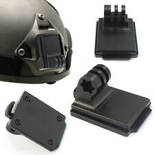 F06678 Aluminum Fixed Helmet Mount for Camera Gopro Hero 2 3 3+ NVG Mount Base