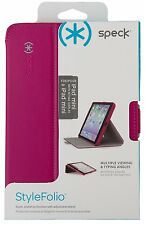 Speck Stylefolio Tablet Case - iPad Mini Retina Pink/ Nickel Gray NEW MSRP $35