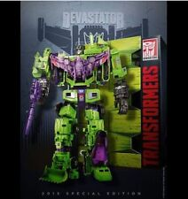DHL SDCC Comic Con Hasbro Transformers Devastator G1 Combiner Constructicons NEW