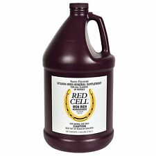 Farnam Red Cell Iron Rich Vitamin Mineral Horse Supplement Gallon Yucca Flavored