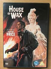 Vincent Price Charles Bronson HOUSE OF WAX ~ Original 1953 Horror Classic UK DVD