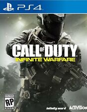 Call Of Duty infinite warfare disc only ps4