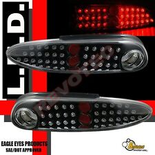 1998-2002 Chevy Camaro Z28 SS Base RS Coupe Convertible Black LED Tail Lights
