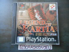 ELDORADODUJEU   LEGEND OF KARTIA RPG ATLUS Pour PLAYSTATION 1 PS1 VF COMPLET
