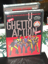Great Ghetto Action - The Black 6 / Mean Johnny Barrows / Velvet Smooth (DVD)