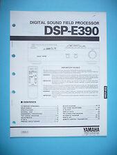 Service Manual für Yamaha DSP-E390  ,ORIGINAL