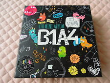 B1A4 4th Mini Album What's Going On? Autographed PROMO CD K-POP BARO STICKER