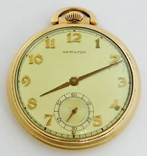 Hamilton pocket watch Grade 917, 10 size, 17 jewels - rf24396