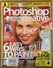Photoshop Creative Six Easy Ways To paint Effects No 121 2015 FREE SHIPPING!