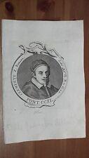 1775 Effigie/Ritratto di Papa Clemente X Pontefice( Emilio Bonaventura Altieri)