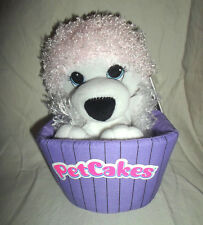"Petcakes Coco-Coconut Puppy Dog Cupcake 7"" Soft Toy Plush Stuffed Animal"