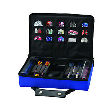 Casemaster CLASSIC BLUE Dart Case  HOLDS 4 SETS DARTS flights shafts tips tool