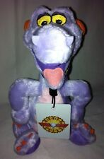 "Figment Plush Toy Dragon Imagination Necklace Walt Disney World Epcot 9"" Doll"
