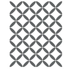 Geometric Lattice Stencil For Crafting Canvas DIY decor Wall art furniture