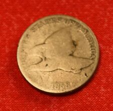 New listing 1858 Flying Eagle Cent Penny G Nice Collector Coin Great Gift Fe48