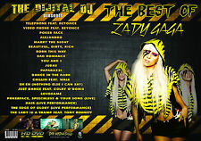 BEST OF LADY GAGA VIDEO DVD - GREATEST HITS - 20 HD VIDEOS
