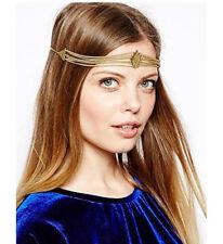 Hair Accessory Triangle Rhombus Tassel Chain Forehead Headband Hair Band