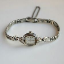 Vintage Benrus Swiss Made Gold Tone Hand Winding Ladies Watch Working Great!!!