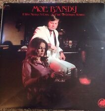 MOE BANDY - It Was Always So Easy To Find An Unhappy Woman - 1975 Vinyl LP - GRC
