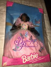 Butterfly Princess African American Christie Barbie Doll Mattel 1994 13052 NRFB