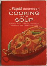 Campbell Cooking With Soup Cookbook 1972 Very Good Condition Free USA Shipping