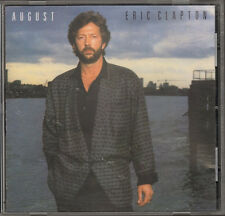 ERIC CLAPTON AUGUST 12 track NEW CD 1986 Phil Collins Michael Randy Brecker