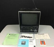 Vtg Panasonic Transistor TV Television TR-449B The Stonybrook Manual