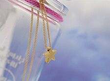 Magical star necklace gift bag gold plated love infinity wish xmas chain pendant