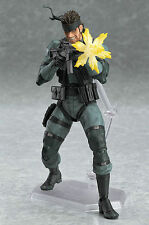 Solid Metal Gear Sons Liberty Snake Figma 2 Mgs2 Action Figure Toys Gift Box AAA