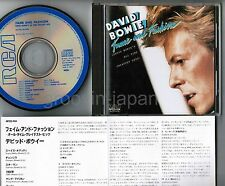 DAVID BOWIE Fame and Fashion JAPAN CD RPCD-104 w/INSERT 3,800JPY No Tax FREE S&H
