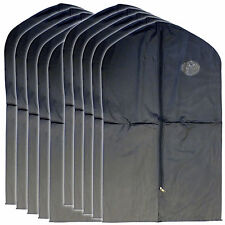 "New 10 PCS Garment Bag for suit, dress black 40 "" w/ transparent window"