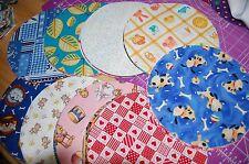 "Lot of 50pcs quilt, cotton fabric charm pack, 5"" circle -grab bag"