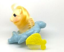 ⭐️ My Little Pony ⭐️ G1 Euro Pretty 'n Pearly Baby Sea Pony Sun Shower w/Comb!