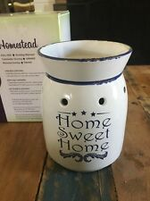 Discontinued Scentsy Warmer Homestead - Home Sweet Home