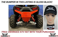 GLOSS BLACK Axiom Side by side Polaris RZR 900 & S 1000 Rear Bumper