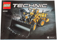 LEGO Technic Instruction Manuals and Stickers for 42030 Volvo Bucket Loader NEW