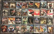 PS3 Games LOT of 32 COMPLETE Uncharted Resident Evil Demons Souls Resistance Ico