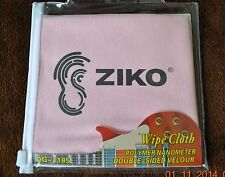 New Guitar  Musical instrument Wipe Cloth Pink Safe for any finish DG-1185 Ziko