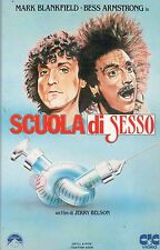 Scuola di sesso  (1982) VHS CiC  Video - Mark Blankfield Jerry Belson