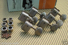 aged Kluson nickel tuners RELIC'D fits Fender Custom Shop SD9105MN1NL (No Line)