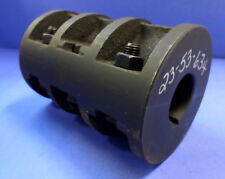 "RIGID BLACK MALLABLE CLAMP COUPLING 4 1/4"" x 6 1/4"" KEYWAY 1 3/4"""