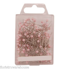 Pearl head pins Pale Pink florists corsage buttonhole 4cm Box of 144