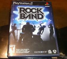 Rock Band (Sony PlayStation 2, 2007) game only