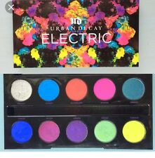 AUTHENTIC Urban Decay Electric Pigment Eyeshadow Palette +Bonus GLITTER  BNIB