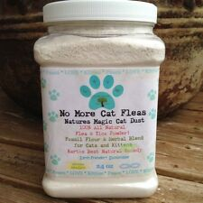 Organic All Natural Flea and Tick Treatment Powder for Cats & Kittens 24 oz