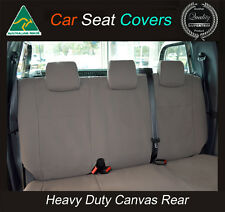 HOLDEN COMMODORE/COLORADO/CRUZE/CAPTIVA/ASTRA/BARINA REAR CANVAS SEAT COVER